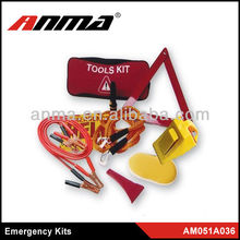 Anma brand led emergency kit roadside with booster cable