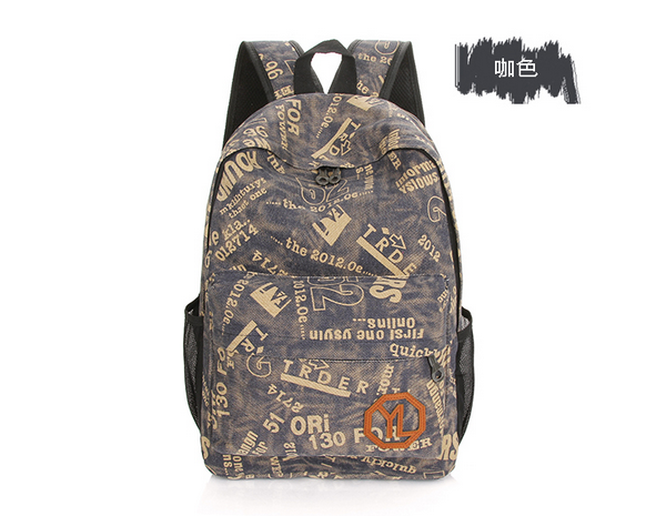 2016 Hot Sell Fashional Canvas Backpack School Bag