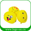 Promotion Emoji Silicone Coin Purse Rubber Wallet