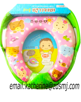 Portable soft toilet seat / baby safety travel potty seat