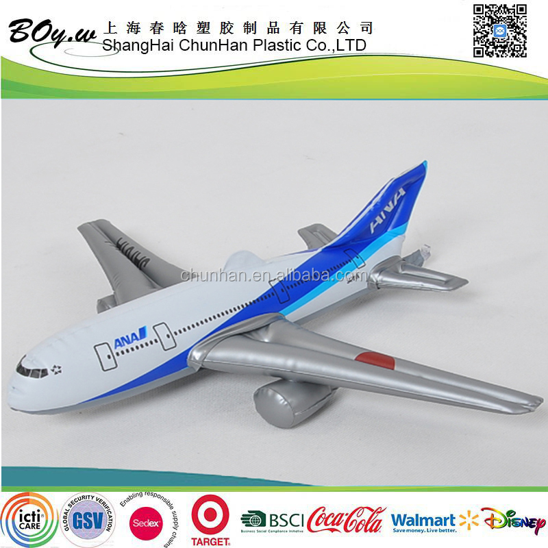 Gold supplier OEM new design display civil aircraft giant advertising pvc inflatable airplane