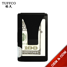 RFID Card Holder Money Clip Stainless Steel Case Wallets Slim credit Card Holder Money Clip with RFID Blocking