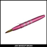 Makeup tools retractable pony hair lip brush/travel lip brush