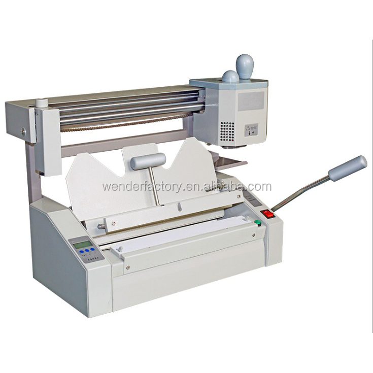 alibaba online shopping glue binder machine equipment binding machine manufactuers end gluing control binding machine