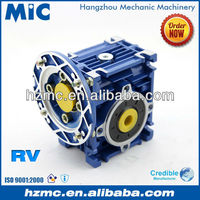 Mechanical Power Transmission NMRV Series Aluminium Alloy Worm Wheel Flender Like Speed Reduce Gearbox
