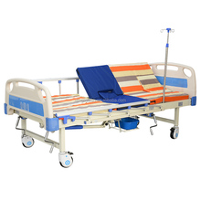 Medical Multi-Functional Turn Over Anti-Skid Portable Hospital Bed