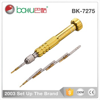 BK-7275 BaKu Special Screwdrivers Slotted 2.0 S2 Steel Cordless Mini Screwdriver