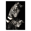 Custom Photo Prints Zebra Black and White Canvas Printing Modern Animal Picture Canvas Print Home Wall Decoration