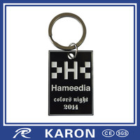 2014 cheap personalized keychain with soft enamel