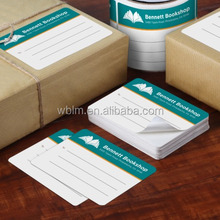 Shipping and Mailing Labels Paper Sticker on Roll