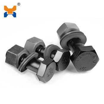 rail fastener hight strength bolts and nuts DIN standard