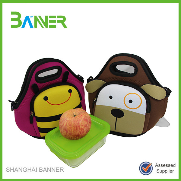 Wholesale insulated neoprene lunch tote cooler bag