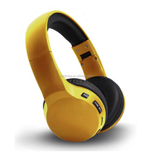 Cool foldable stereo portable bluetooth headphones wireless with custom logo and colors,40mm drivers bluetooth headsets with CE