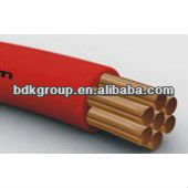 copper coil core and colored insulated electric wire