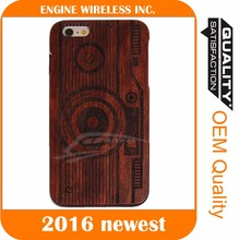 2016 Luxury shell blank wood case for iphone,wood display case for samsung note 3 case