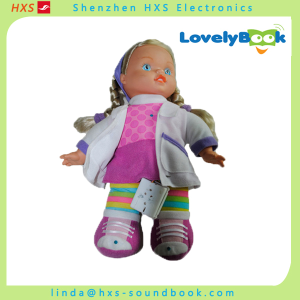 Professional Children Custom Plush Musical Doll