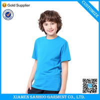 Oem Tshirt Plain Kids T-Shirt Mixed Colors And Size Custom Printied Children's Clothing