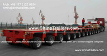high quality Goldhofer modular platform vehicle to haul ship section
