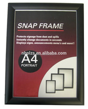 "ningbo manufacturer cheap Blue 36"" snap poster frame"