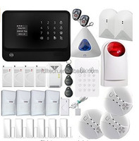 100 wireless zones home security alarm system G90B newest technology powerful function support 3G/4G(compatible with 2G)