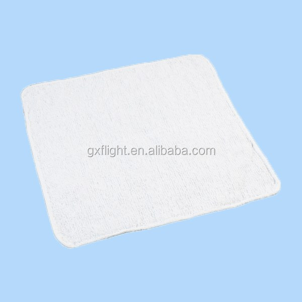 perfumed Disposable cotton airline hot towels