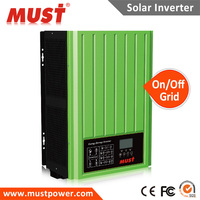 48v dc to 220V/230V ac pure sine wave on grid type solar inverter 3KW