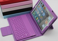 for ipad mini keyboard case leather case for ipad mini