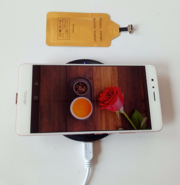 Type C Interface Wireless Charger Receiverer QI Receiver Type-C for Wireless Charging Mobile