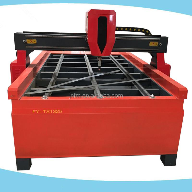 cnc leather cutting machine/ table type cnc plasma and flame cutting machine for metal plate
