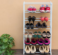 Easy standing expanding shoe rack designs