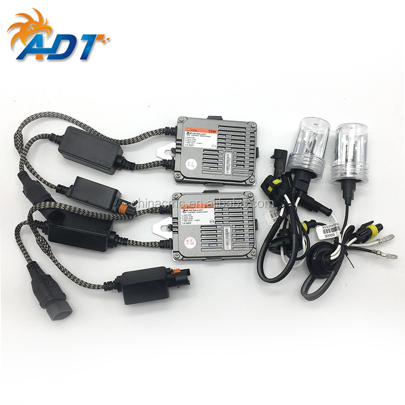2017 hot new products 12V 35W 880 880 H16(5202) H3C 5000K 5500K 6000K CanBus Slim Fast Start HID Xenon hid conversion kits