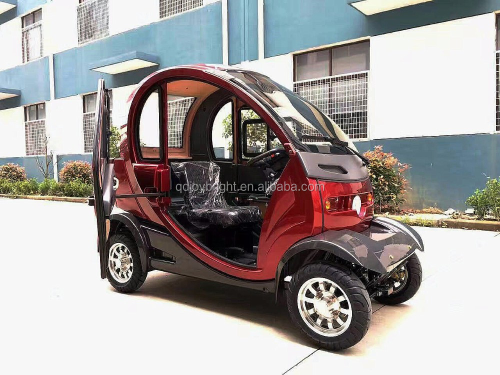 Electric4 wheel car golf car,electric car,2 doors and 2 seats