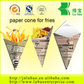 french fries paper cone&professional paper cone manufacturer