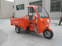 300cc water cooling moped cargo wholesale cheap petrol tricycle with roof (SY300ZH-F5)