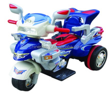 R/C and Foot-step Motorcycle with MP3 input, Music and Light Electric Kids Riding Car for Kids