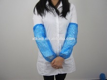 clear disposable plastic protective arm sleeves
