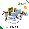 302030 3.7v 120mah small type rechargeable lipo battery