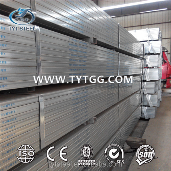 made in china erw galvanized hs tubes hs gi tube pre-galvanized conduits accessories