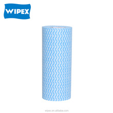 Disposable nonwoven soft facial towel roll