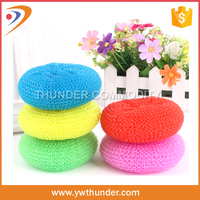 Household Cleaning Products Plastic Mesh Pot Scrubber