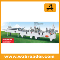 Corrugated Paper Box Automatic Folder Gluer /Automatic Folder Gluer / Folding Gluing carton boxs machine