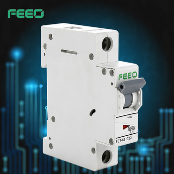 Free Sample IEC60947 FE7-63 din rail MCB 1p 2p 3p 4p MCB 1P+N MCB with IEC