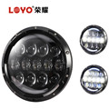 "2017 top sale 7"" driving lights 7 inch round led headlight for jeep wrangler"