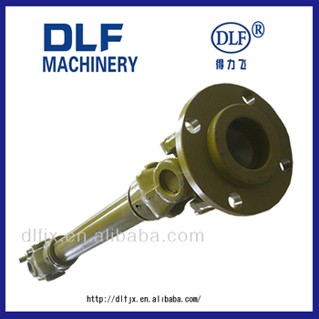 pto shaft with coupling