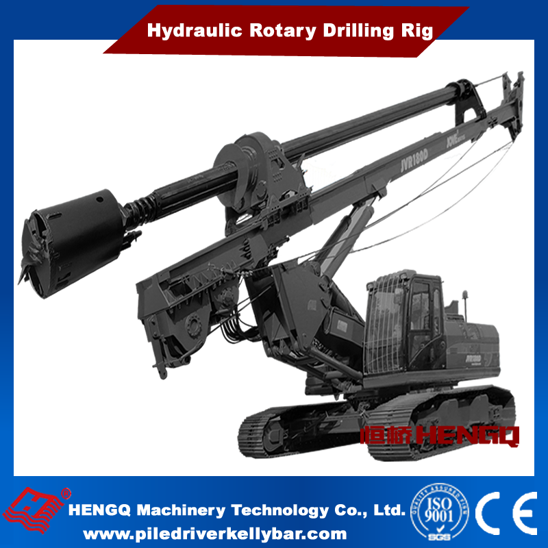 2016 High Quality Hydraulic Rotary Mining Rock Drilling Rigs HQR160D