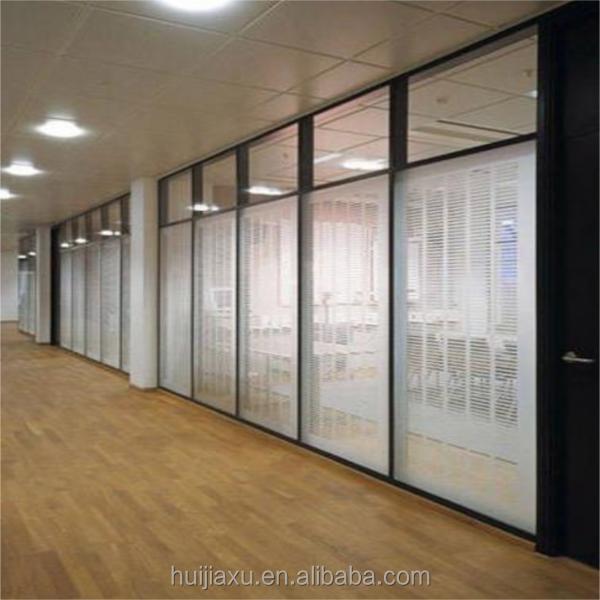 Aluminium Entrance Living Room Glass Partition Design