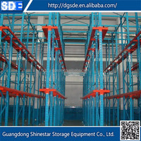 Wholesale china merchandise metal steel warehouse rack