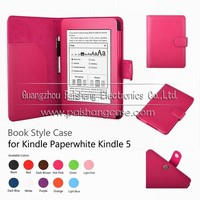 Mix color Hot sale high quality Protective case for NEW Kindle paperwhite