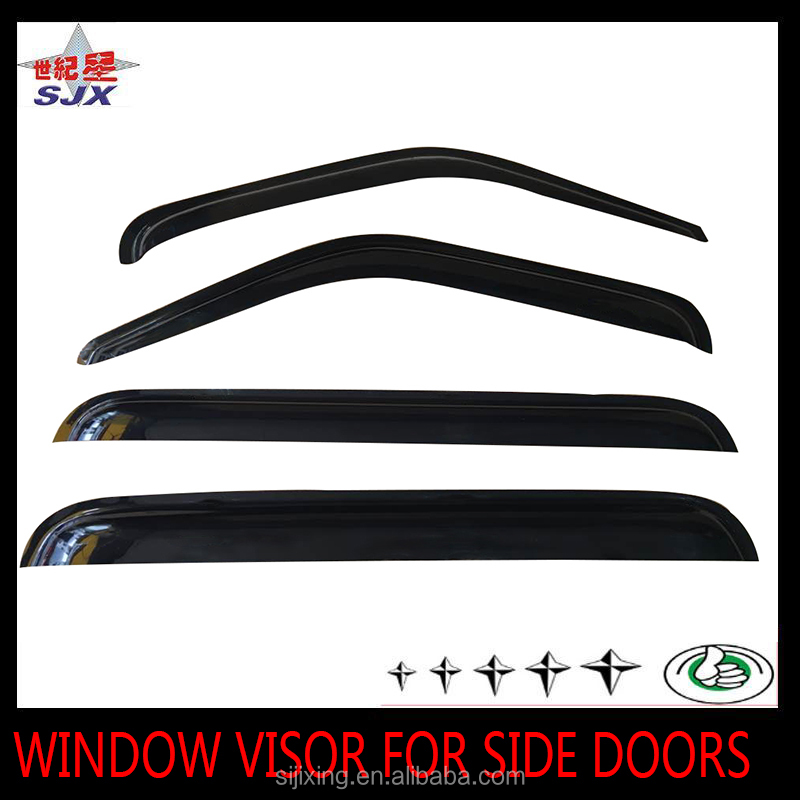 Factory supply window visor for foreign car Hon-da series car side door rain guard