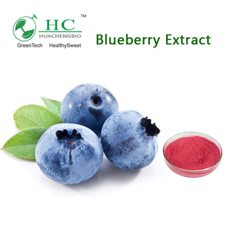 NSF-GMP Supplier Anthocyanidins Blueberry Powder Blueberry Extract